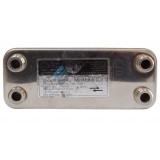 Теплообменник вторичный, пластинчатый для котлов Vaillant 17B1901215