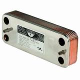 Теплообменник вторичный, пластинчатый 16 пластин для котлов Beretta 17B1901606