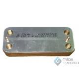 Теплообменник вторичный Zilmet для котлов TeploWest BASIS 17B1901218 DO345-2