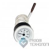 Термометр (круглый) для котлов. CT 52