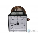 Термометр (квадратный) ф 45мм., 0-120С. 042121
