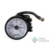 Термометр (круглый) ф 37мм., 0-120С. 060107