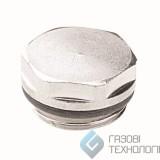 """Заглушка для радиатора, хром, Radiator Plug, 1/2"""", АСЕ 0420004049"""